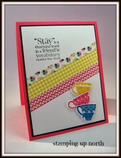 stamping up north: Stampin Up Tea Shoppe