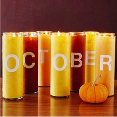 I always try to make it to the October Fest every year, and I always love to smell all of the candles in the tents selling them <3