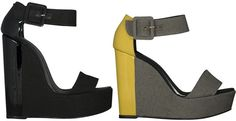 Pierre Hardy Spring 2011 wedge; also in tweed/red patent.