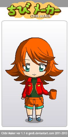 This is Charlie, a random character that i created. ( Charlie is a girl) Chibi Maker, Random, Fictional Characters, Art, Art Background, Kunst, Fantasy Characters, Art Education