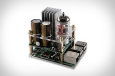Raspberry Pi Tube Amp | Uncrate