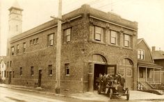 Portland, Oregon, Fire Station 9, still stands at the corner of SE 35th and Belmont. Bult 1913.