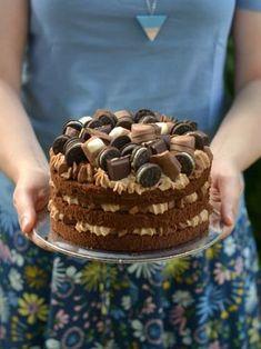 Colors in the Kitchen: Csokitorta Tiramisu, Holiday Recipes, Cake Recipes, Cake Decorating, Pie, Ice Cream, Sweets, Cookies, Baking