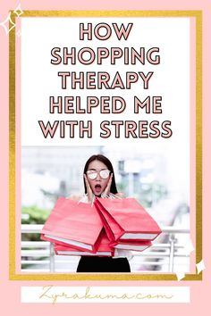 Feeling stressed out after a long work day? Why not try out shopping therapy (aka retail therapy). Here's 5 reasons why you should whether that be online shopping or not. | #mentalhealth | #stress | I need shopping therapy | online shopping therapy | coffee shop therapy Feeling Stressed, Stressed Out, Self Development, Personal Development, Ways To Relieve Stress, Self Care Activities, Retail Therapy, Self Improvement, Self Love