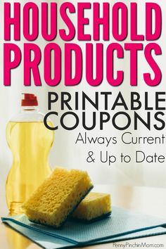 hottest coupons for cleaning and laundry products