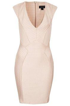 Topshop Ribbed Bandage Dress, $96