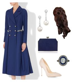 Visit to the Kremlin on the IVth day & speech on the alliance between the two nations by dresslikearoyal on Polyvore featuring polyvore, fashion, style, Erdem, Sergio Rossi, Jenny Packham, Tara and clothing