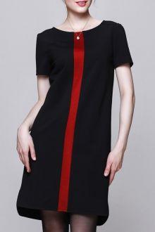 ❤ Black red Dress
