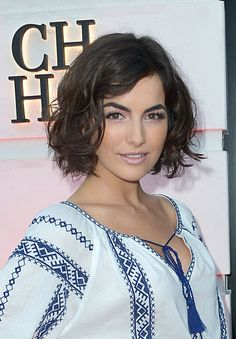 """camilla-belle-bob-haircut   This is bob-hair cut! The """"long bob,"""" is an oxymoron, and historically inaccurate."""