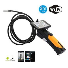 DBPOWER Wifi Endoscope Inspection Camera with 8.5mm Diameter 3 Meter Tube Support IPad IPhone IOS Android DBPOWER http://www.amazon.com/dp/B00HIZDM2I/ref=cm_sw_r_pi_dp_h0H-wb0A3ME5W