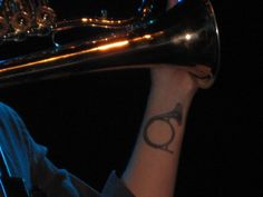 Must be a hardcore French Horn player to get a tattoo