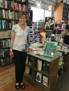 """Vintage/Anchor Books on Twitter: """"Author @judyblume in front of her author's choice bookshelf at @strandbookstore https://t.co/7NEAxcQQPx #JudyBlume https://t.co/cMEqQxqWmx"""""""