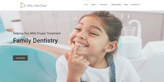Designed New #Responsive Website for Modern Smile Dental in Gaithersburg, MD Smile Dental, Family Dentistry, Website, Design