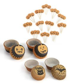 Take a look at this Halloween Cupcake Wrap & Food Pick Set by Martha Stewart Crafts on #zulily today!