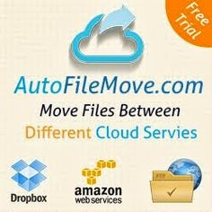 Move files between different cloud servies like dropbox, amazon s3,FTP or download from direct URL