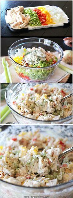 Ranch Chicken Salad Recipe (Paleo- Whole30 Compliant