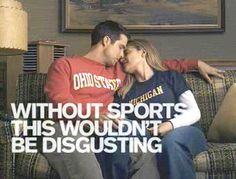 One of the funniest commercials ever on tv...for fans of both teams.  ;-)
