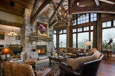 I like big windows in living room...