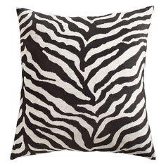 Oversized Zebra Pillow - Pier 1