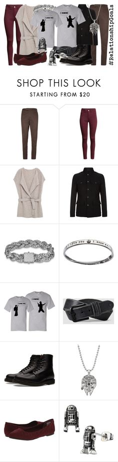 """""""Han & Leia"""" by fabulousgurl ❤ liked on Polyvore featuring Berluti, H&M, Violeta by Mango, Tom Ford, John Hardy, AllSaints, Common Projects, Ball, Rocket Dog and disneybound"""