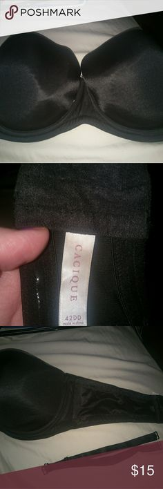 Cacique strapless bra I tried to wear this.  Strapless is not for me. This is no longer my size do my loss is your gain!  Like new  condition. Cacique Intimates & Sleepwear Bras