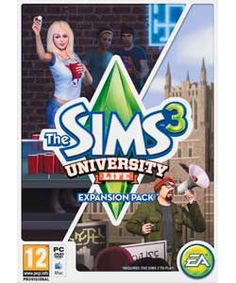 Buy The Sims 3 University PC Game - Expansion Pack at Argos.co.uk, visit Argos.co.uk to shop online for PC games