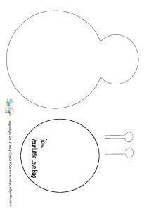 Love Bug Template - Arty Crafty Kids Preschool Art Projects, Preschool Crafts, Toddler Crafts, Crafts For Kids, Lesson Plans For Toddlers, Bug Crafts, Handprint Art, Scrapbook Templates, Fathers Day Crafts