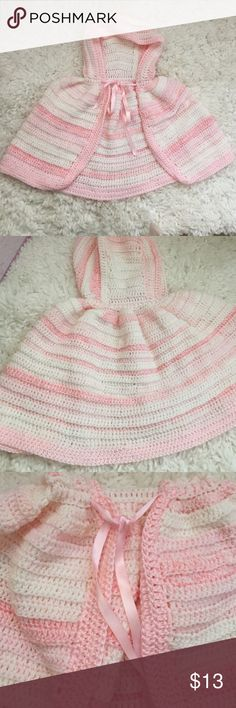 🎀Handmade baby/toddler sweater🎀 Beautifully made sweater for a little girl. Perfect condition from a smoke free home. Shirts & Tops Sweaters