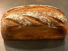 Pain TGV Pain Thermomix, Baguette Sandwich, Cooking Bread, Brookies, Pan Bread, Baked Goods, Bacon, Bakery, Brunch