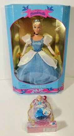 Walt Disney Cinderella, Disney Princes, Disney Dolls, Barbie Collector, Snow Globes, Sparkle, Eyes, Disney Princesses, Cat Eyes