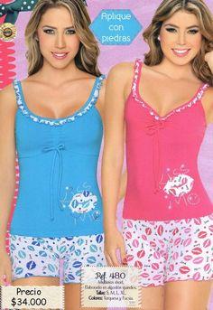 imagenes pijamas para mujer - Buscar con Google Girls Summer Outfits, Girl Outfits, Cute Outfits, Sexy Pajamas, Pajamas Women, Cute Sleepwear, Lingerie Sleepwear, Cute Pajama Sets, Lounge Wear