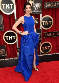 Julianna Margulies on the SAG Awards Red Carpet 2015