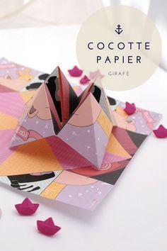 la cocotte en papier imprimer id es pour la maison pinterest cocotte en. Black Bedroom Furniture Sets. Home Design Ideas