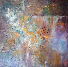 Donna's original acrylic abstract no. 3 12 x 12