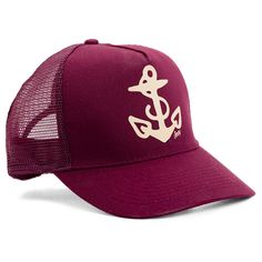 Anchor Trucker Hat by Sailor Jerry #InkedShop #hat #anchor #snapback #SailorJerry #accessories