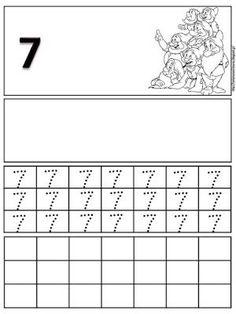 Φύλλα εργασίας γραφής για τους αριθμούς 1 έως 10 | Δραστηριότητες, παιδαγωγικό και εποπτικό υλικό για το Νηπιαγωγείο | Bloglovin' Kindergarten, Math Equations, Maths, Alphabet, Kindergartens, Preschool, Preschools, Pre K, Kindergarten Center Management