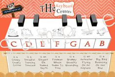 The well loved keyboard critters in MYC!