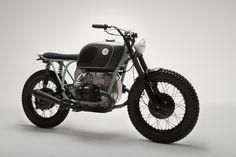 BMW R75 Street Tracker - Brat by 6/5/4 Motors #motorcycles #streettracker #motos | caferacerpasion.com