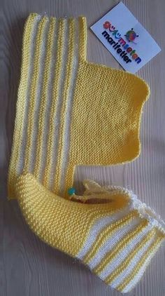 Discover Art inspiration, ideas, styles - Source by Knitting Blogs, Baby Knitting Patterns, Loom Knitting, Knitting Designs, Knitting Socks, Knit Slippers Free Pattern, Crochet Slipper Pattern, Crochet Socks, Knit Crochet