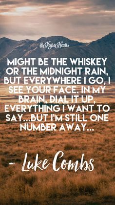 One Number Away by Luke Combs. Created by Jaison Keyette One Number Away by Luke Combs. Created by Jaison Keyette One Number Away by Luke Combs. Created by Jaison Keyette One Number Away by Luke Combs. Created by Jaison Keyette Country Love Song Lyrics, Country Music Quotes, Country Music Singers, Country Songs, Country Playlist, Song Lyric Quotes, Love Songs Lyrics, Music Songs, Luke Combs Lyrics