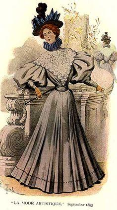 """""""La Mode Artistique"""", 1895"""