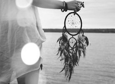 I've always wanted a dreamcatcher. Can't ever find a cute one like this though.