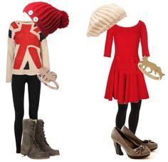 Cute Outfits For Teens (Christmas Outfit) Teenager Outfits, Cute Teen Outfits, Outfits For Teens, Cute Fashion, Teen Fashion, Winter Fashion, Style Fashion, School Looks, Girls Christmas Outfits
