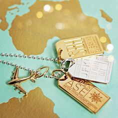Jet Set Candy offers a growing range of travel charms in sterling silver, gold vermeil and solid gold. Jet Set, Travel Souvenirs, Travel Jewelry, Travel Memories, Travel Themes, Minimalist Jewelry, Jewelry Accessories, Space Jewelry, Jewelry Ideas