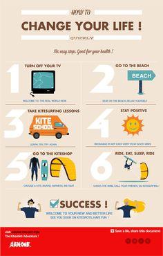 Kitesurfing changes your life! #kitesurfing #kiteboarding #travel