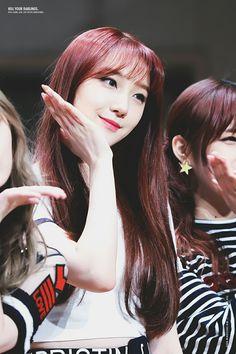 Roa Kpop Girl Groups, Korean Girl Groups, Kpop Girls, Pristin Roa, Kim Min Kyung, Pledis Girlz, My Baby Girl, Baby Girls, Face E