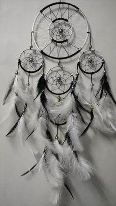 filtro dos sonhos grande preto e branco ou escolha sua cor Mercado Livre - Compre #dream