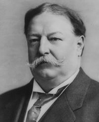 William Howard Taft (1857-1930) was the 27th president of the United States. Taft served as US president from 1909 to 1913. Taft ran for a second term, but was defeated by Woodrow Wilson. The flowering cherry trees in Washington, D.C. were given to the US from Japan during Taft's presidency. Eight years after leaving office, Taft was appointed chief justice of the Supreme Court; he retired one month before he died. Taft died on March 8, 1930, in Washington, D.C.