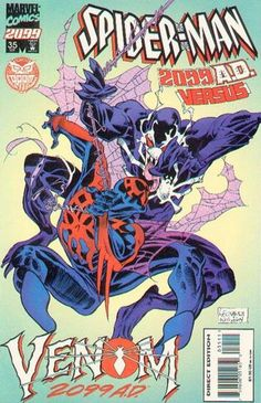 Spider-Man 2099 # 35 by Rick Leonardi & Al Williamson