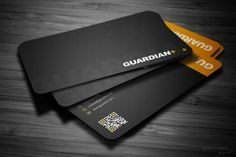 Safety Business Card ~ Business Card Templates on Creative Market